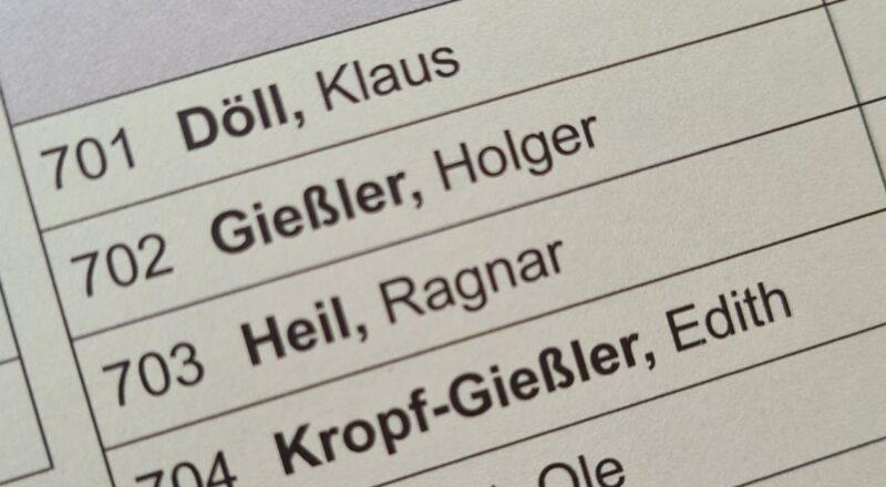 Briefwahl Felsberg Kommunalwahl